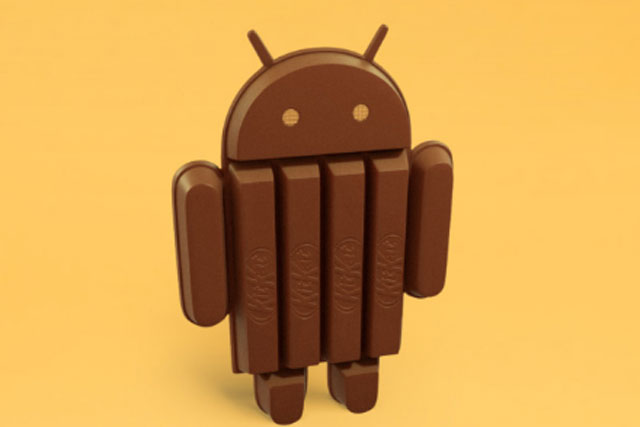 Google Android takes a break with KitKat operating system