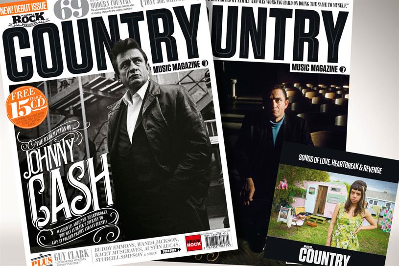 Country Music Magazine: the title will have an initial print run of 25,000 copies