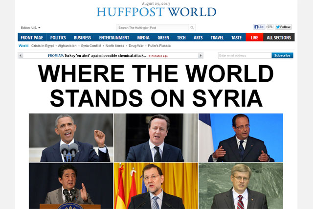 Huffington Post: HuffPost Live streaming network to expand its global coverage