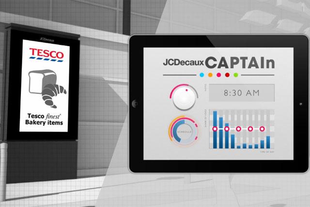 JCDecaux: CAPTAIn SmartScreen digital network will launch across 400 Tesco stores