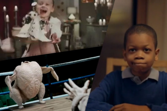 Seasonal greetings: B&Q, Morrisons and Sainsbury's unveiled their Christmas ads