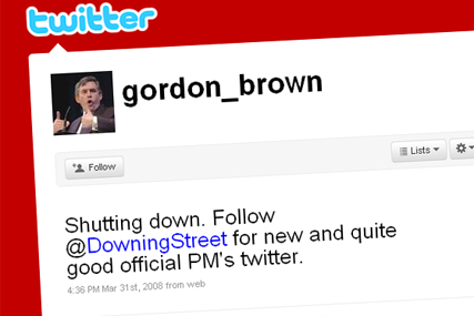 Social media: unofficial PM page directs viewers to Downing Street