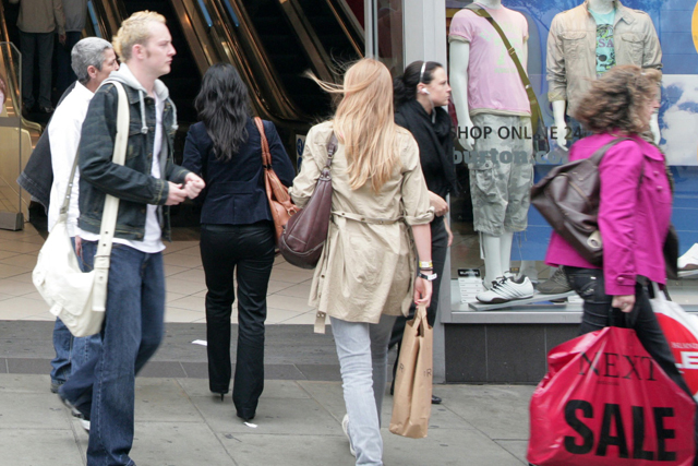 Nineteen percent of shoppers think the high street is less convenient than shopping online