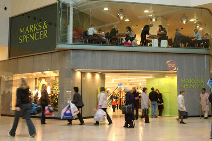 M&S: pre-tax profits up 17% in first six months of the year