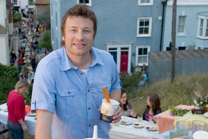 Sainsbury's: Jamie Oliver promotes Taste the Difference range