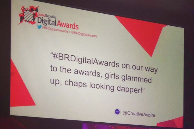 Brand Republic: the digital awards were held at Troxy in East London