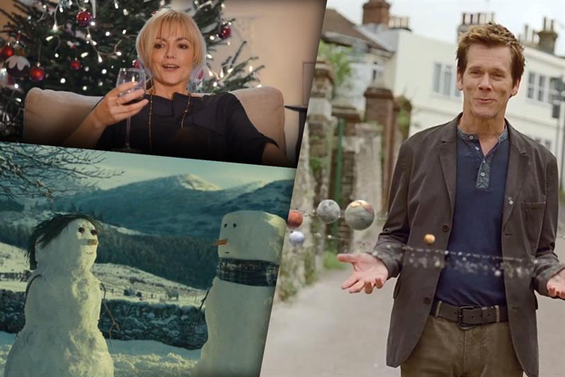 Christmas is most definitely coming to a TV near you