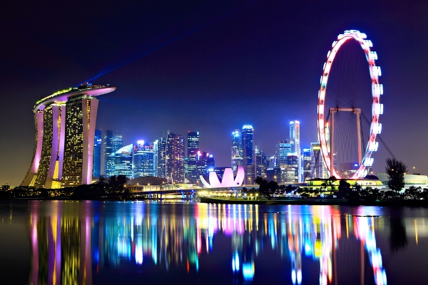 Visitor numbers to Singapore dipped in the first half of 2015.
