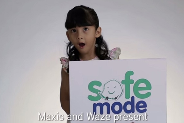 Waze & Maxis Malaysia introduce child-voices to encourage safe driving.