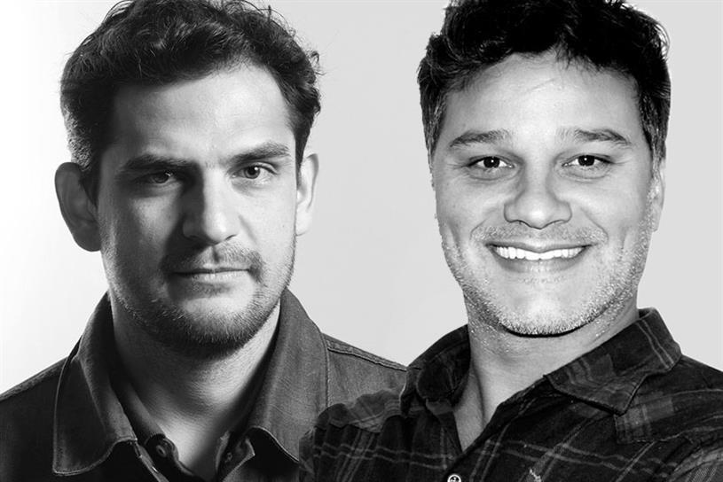 Rafael Rizuto (left) and Eduardo Marques.