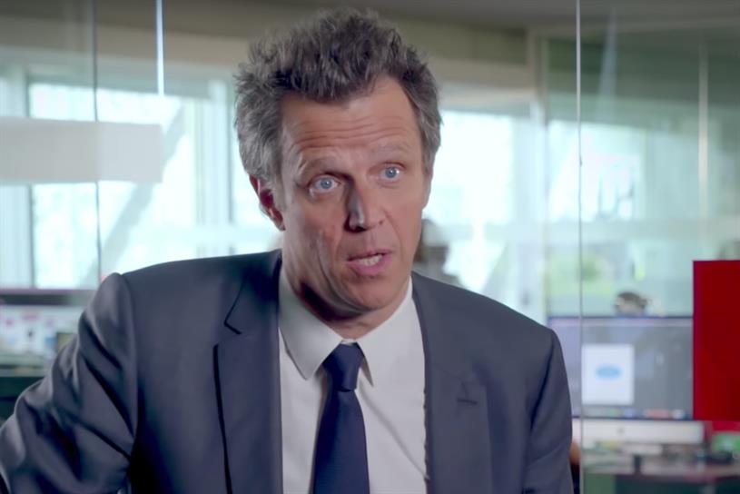 Arthur Sadoun, chief executive, Publicis Groupe
