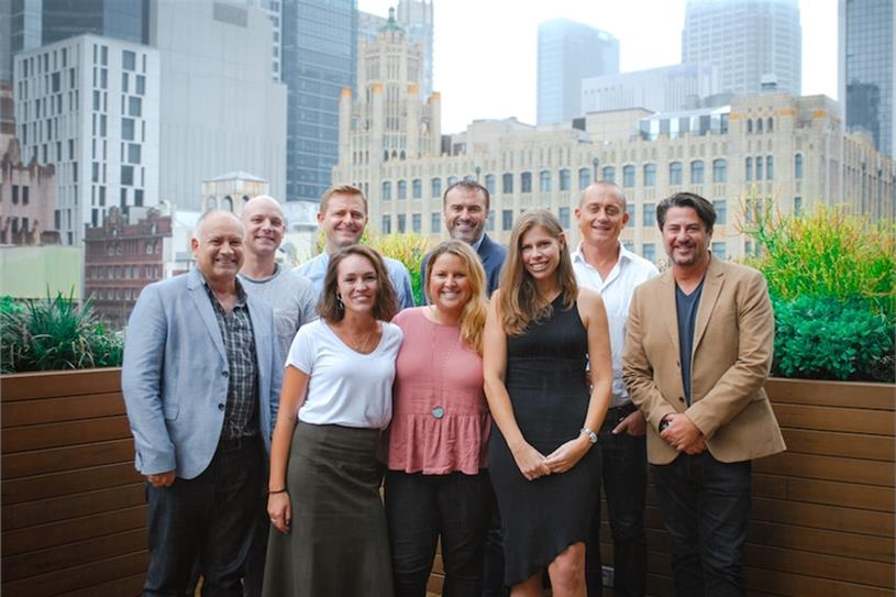 The BD Australia team with the Havas Village executive leadership