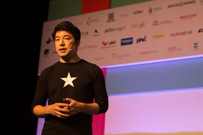 Rei Inamoto, chief creative officer of AKQA