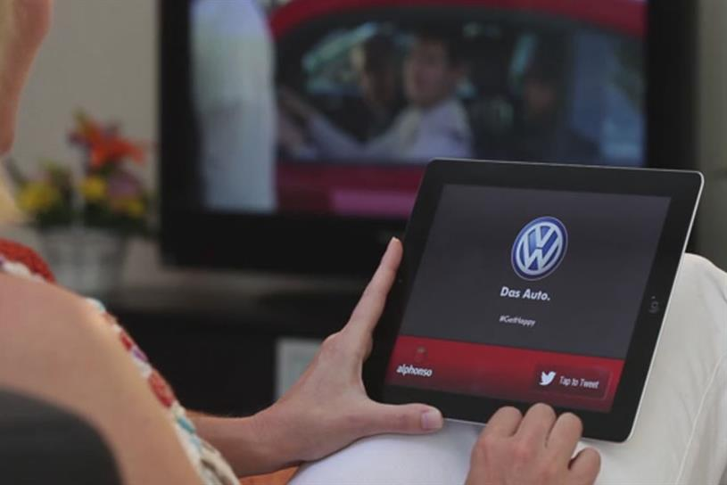 Alphonso serves up ads on mobile devices and desktop based on the TV shows you're watching.