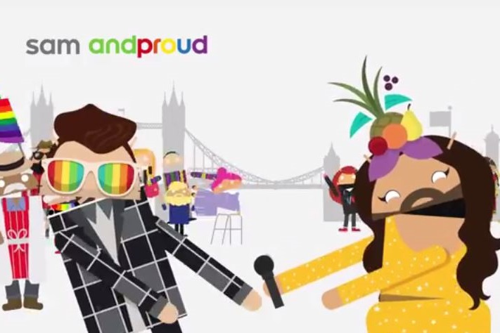 Google asks people to 'Androidify' themselves and join its floats in London, San Fransisco and New York.