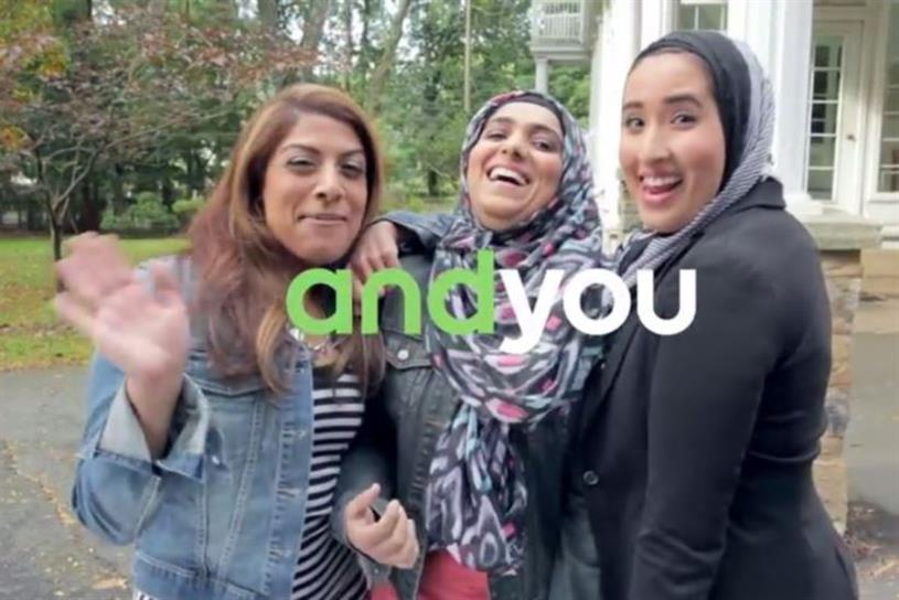 "Android featured hijab-clad women in its ""And You"" campaign."