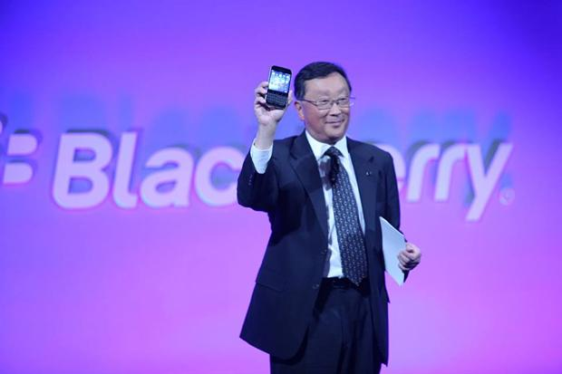 BlackBerry: CEO John Chen.