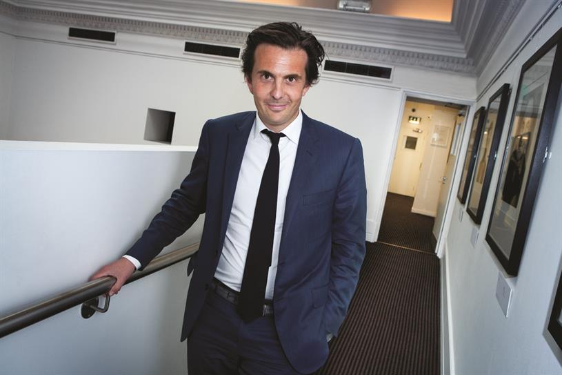 Yannick Bolloré: the chief executive at Havas