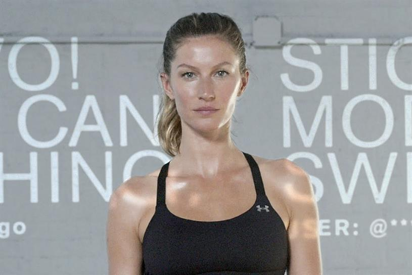"Under Armour ""Gisele Bündchen – Will Beats Noise"" by Droga5."