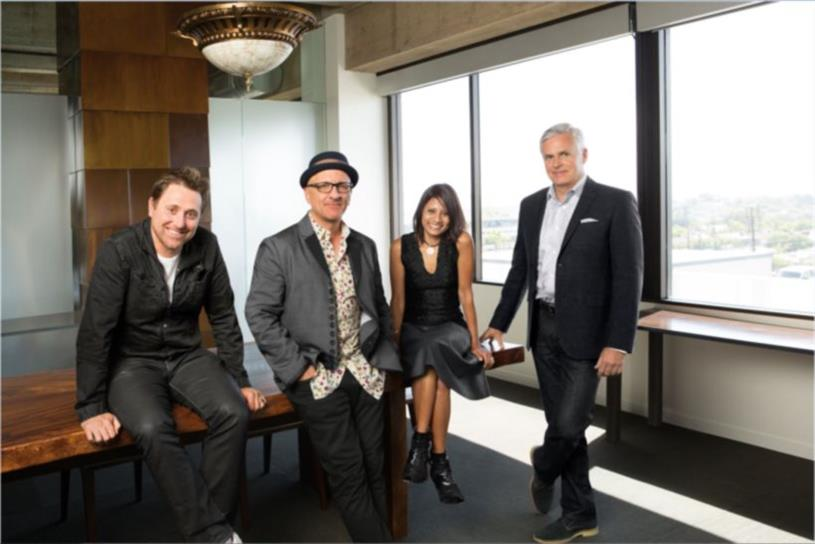 David & Goliath's management team (left to right): Colin Jeffery, David Angelo, Seema Miller, Brian Dunbar.