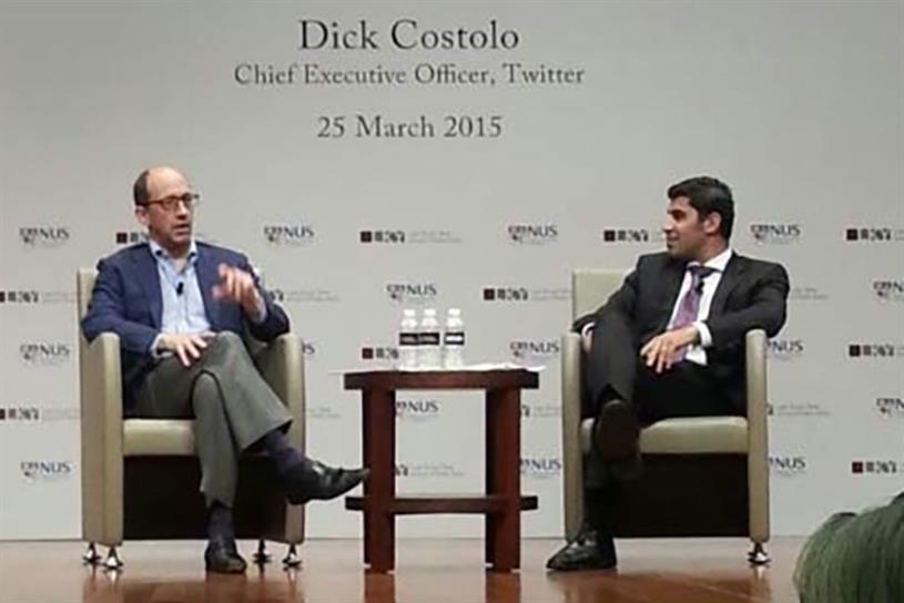 Dick Costolo, Parag Khanna.