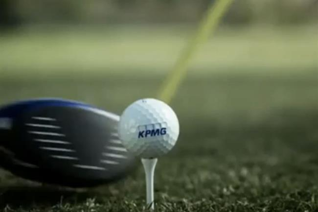 """Earlier this year, JWT New York created KPMG's first TV ad in a decade with """"Glass Ceiling,"""" starring golfers Phil Mickelson and Stacy Lewis."""