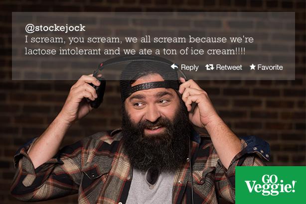 Go Veggie.