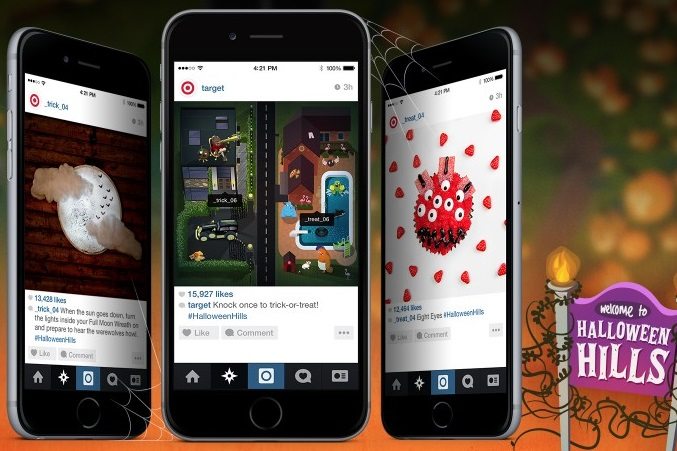 Target creates Instagram experience