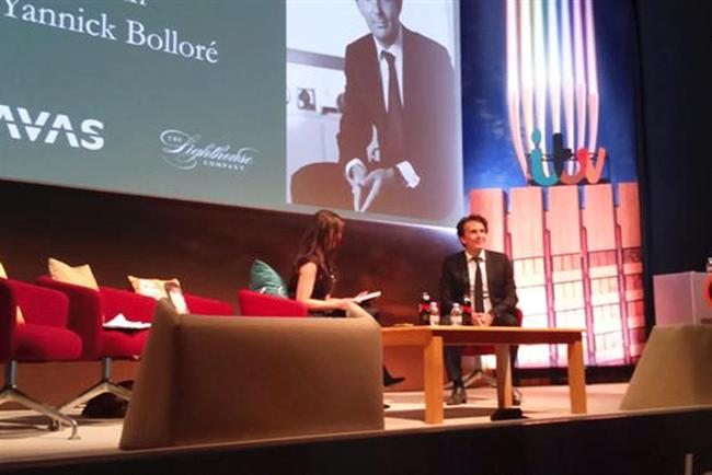 Yannick Bolloré: takes the stage at Advertising Week Europe.