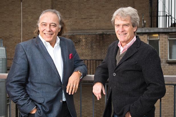 Teichman (left) and Hegarty partner to launch The Garage