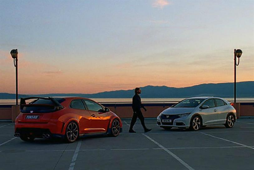Honda shows both sides of its new Civic.