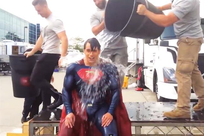 The Ice Bucket Challenge.