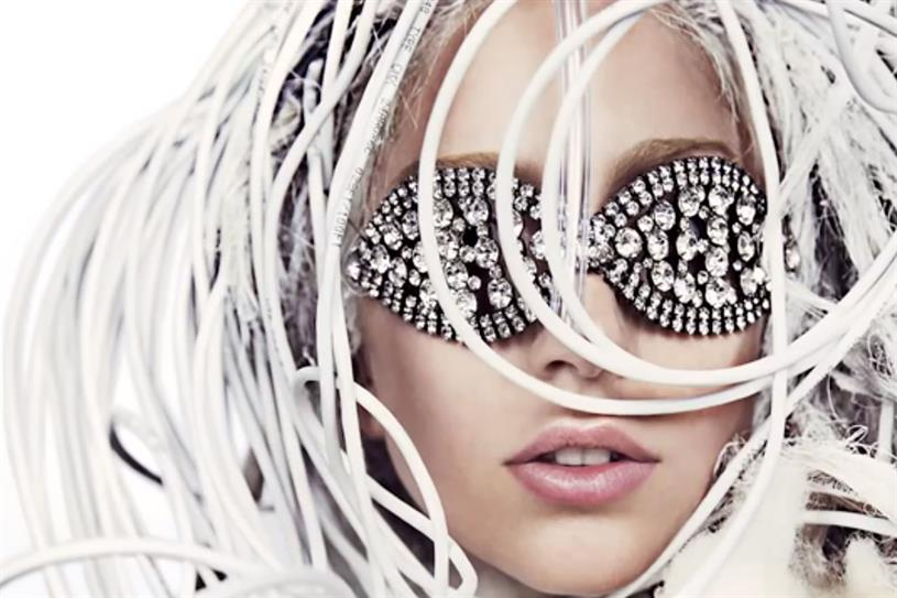 Lady Gaga from #AbsolutGaga campaign.