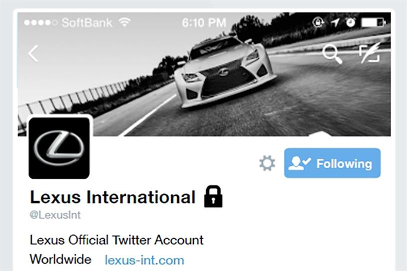 Lexus is offering invitation-only film previews via Twitter.