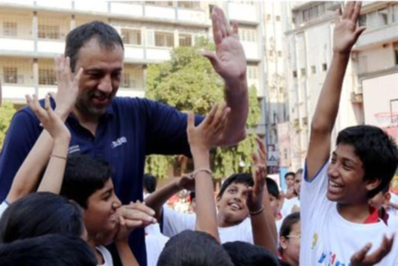 The NBA's Jr. NBA program in India numbers 750,000 students and counting.