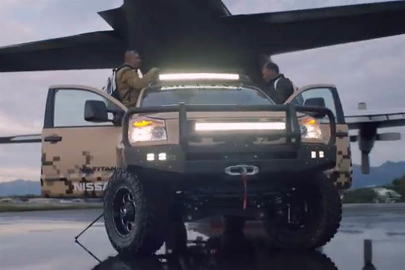"""Nissan """"Project Titan"""" by TBWA\Chiat\Day."""