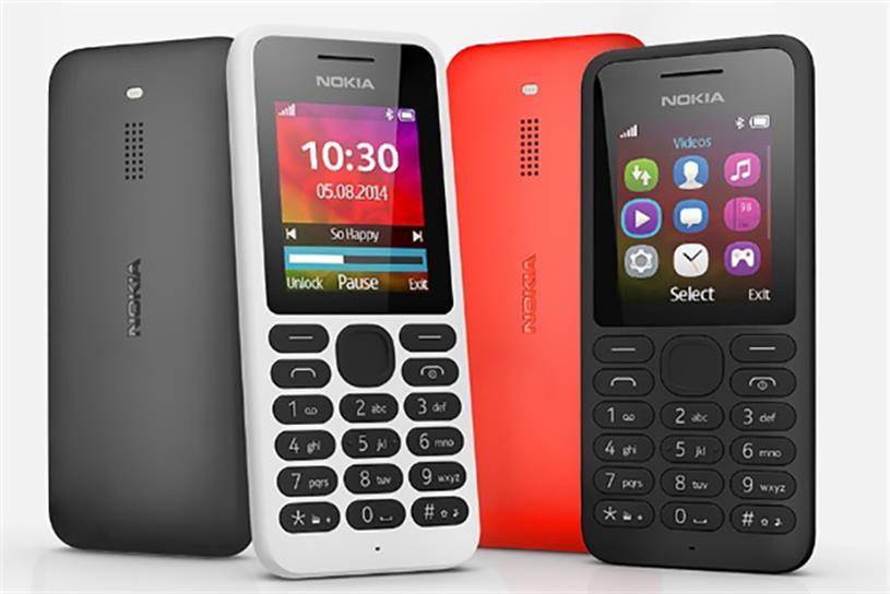 Nokia handsets.