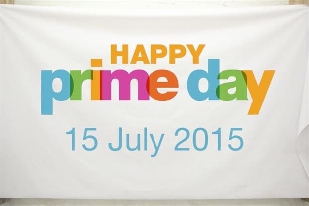 Prime Day: Amazon's day of bargains for Prime members.