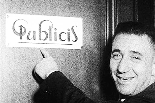 Publicis Worldwide reintroduces logo from the agency's first office door.