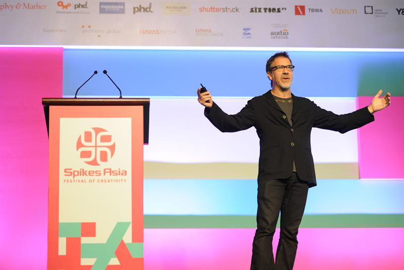 RG/A's Barry Wacksman used work with Beats as an example of business transformation.