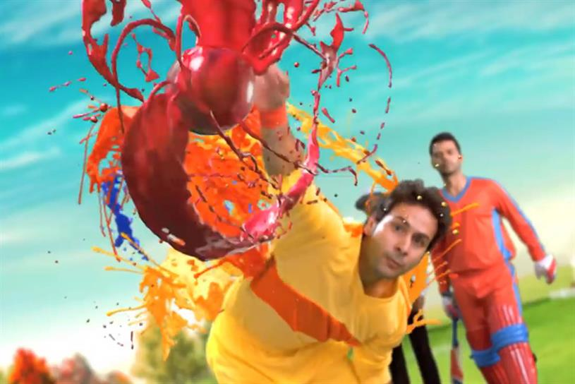 "Sony India ""The Most Colorful Cricket Experience"" by Hakuhodo Percept."