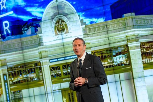 Starbucks CEO Howard Schultz outlines five-year growth plan.