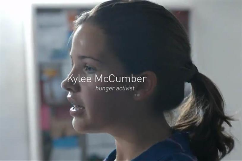 Kylee McCumber, representing the United States.