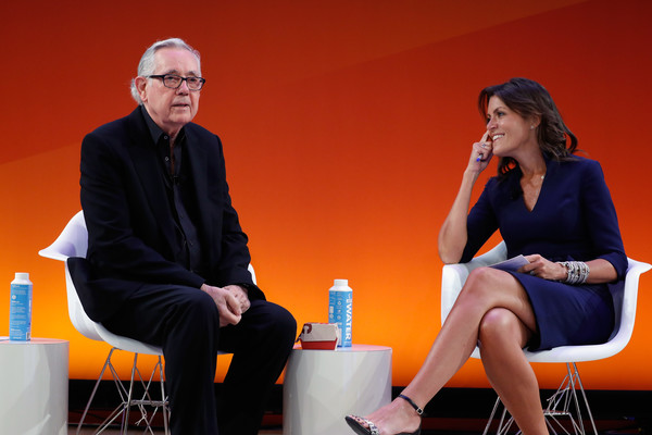 DDB Chairman Emeritus Keith Reinhard and DDB North America CEO Wendy Clark at Advertising Week 2016