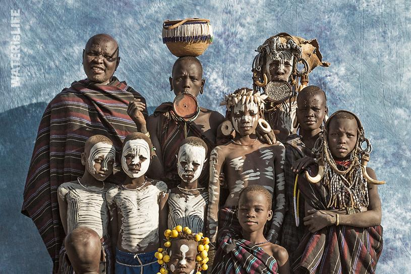 "WATERisLife ""The Last Family Portrait"" by Deutsch NY."