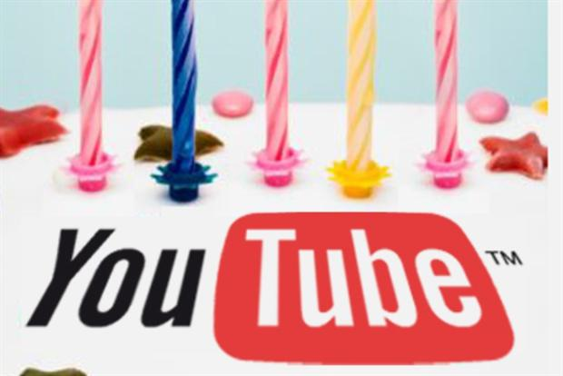 YouTube is celebrating its 10th birthday.