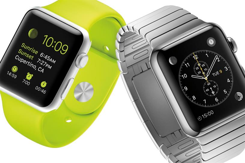 Apple Watch: announced at the company's event in Cupertino