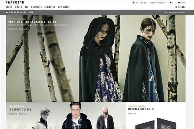 Farfetch: appoints Droga5