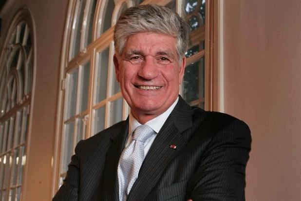 Maurice Lévy: the chairman and chief executive of Publicis Groupe.