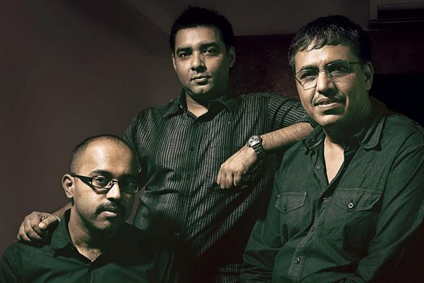 "Bhat, Sengupta and Bhatt (l-r)…""there is a link between speed of thinking and the speed of your agency's growth."""